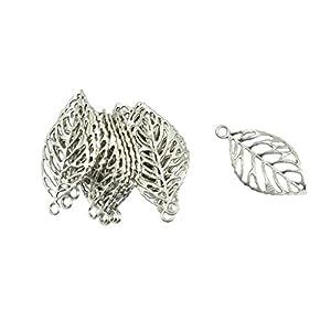 20 Stü Silber Ton Charms Anhänger Für Halskette Armband Schmuck Machen