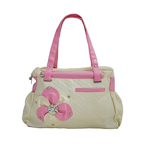 Typify Women\'s Stylish Handbag Cream- 10TBAG15