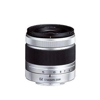 Pentax 02 Standard Zoom Objektiv für Q-Serie-Kamera (5-15mm, F2.8-F4.5) silber