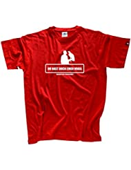Falknerei Beizjagd Du hast doch einen Vogel T-Shirt S-XXXL