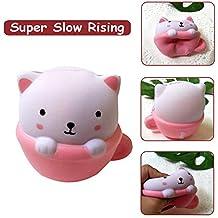 TianranRT Squishies Adorable jouet anti-stress parfumé pour chats, adorable  augmentation de la crème ce49d326cc8b