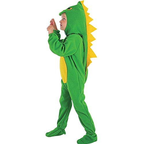 Dinosaurier Kostüm 3 - Dinosaurier-Kostüm, Einteiler, für Jungen und Mädchen, 2-4Jahre
