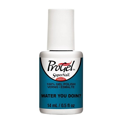 SuperNail ProGel LED/UV Vernis à Ongles - Tropical Pop! Collection - Water You Doin? - 14ml