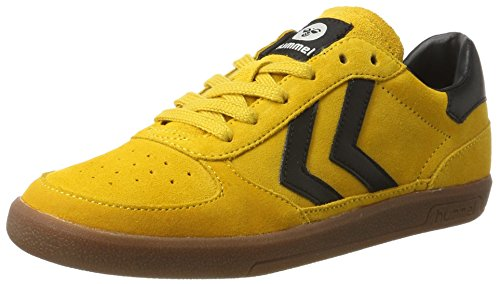 Hummel Unisex-Erwachsene Victory Low-Top Gelb (Golden Yellow)