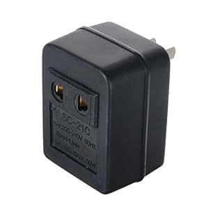 Adaptateur prise americaine PLUG 110V ¨¤ 220V AC voltage Convertisseur transformateur 50W + Branchez UE Pratique pour voyager