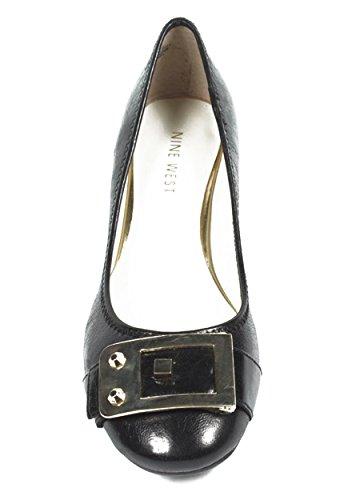 NINE WEST - Ballerine Con Tacco Donna NWUPGRADEYA BLACK Tacco: 2.5 cm Nero