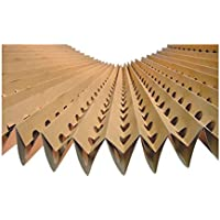 Filtro de cartón plegado y perforado en acordeón (1,00x10,00 metros)