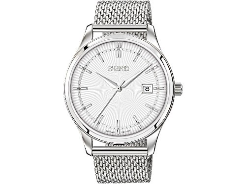 Dugena Men's Analogue Quartz Watch with Stainless Steel Strap 7090210