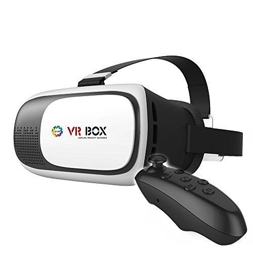 iitrust virtuelle Realität VR Box für 4,0-6,0 Zoll Smartphone S mit einstellbarer Pupillenabstand für 3D-Filme verwendet und Spielen