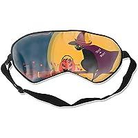 Schlafmaske für Halloween, Karte, zum Schlafen, konturierte Augenmaske, Schlaf für Reisen und Nachtruhe preisvergleich bei billige-tabletten.eu