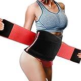 Fascia Addominale Dimagrante Donna Cintura Dimagrante Snellente Promuove la Perdita di Peso Brucia Grassi Fa Sudare Regolabile Fascia Dimagrante (Rosa)
