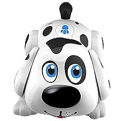 Roboterhund Harry Der Süße Dalmatiner Welpe Reagiert Auf Berührungen und Bewegt Sich, Bellt Und Klingt Wie Ein Hund
