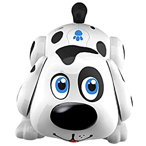 Electronic Pet Dog Interactive Puppy – Robot Harry Responds to Touch, Walking, Chasing and Fun Activities.