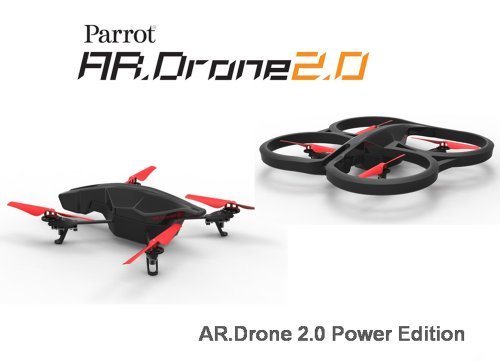 Parrot AR.Drone 2.0 Power Edition Quadrocopter (geeignet für Android-/Apple-Smartphones und -Tablets) rot - 11