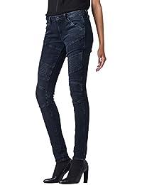 G-Star Jeans 5620 Skinny Damen Biker jeans, Größe:W 33 L 28;Farbe:dk aged - 60907.6545.89