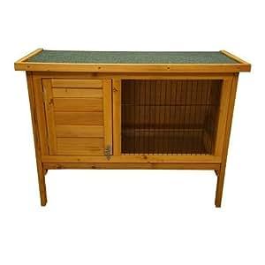 91 cm gabbia con unico piani in legno per conigli maiali for Piccoli piani domestici vittoriani