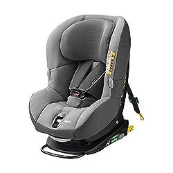 Maxi-Cosi MiloFix Kindersitz, Gruppe 0+ /1 Autositz (0-18 kg), Reboarder mit Isofix, nutzbar ab der Geburt bis ca. 4 Jahre, concrete grey