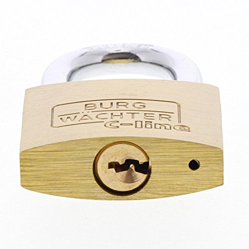 BURG-WÄCHTER Vorhängeschloss, 2er-Set, 6 mm Bügelstärke, 4 Schlüssel, Duo 222 40 SB - 4