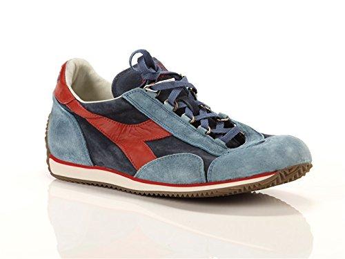 Diadora Heritage, Uomo, Equipe S SW Azzurre Blu, Suede / Pelle, Sneakers, Blu, 44.5 EU