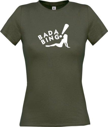(ShirtInStyle Lady-Shirt Bada Bing! Funstuff, Farbe grau, Größe XL)