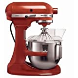 Kitchenaid 5KSM5BER K5 Heavy Duty Mixer, 315 Watt, Red
