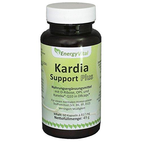 Kardia Support Plus mit Q10 und Ribose, 60 Kapseln