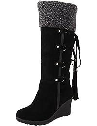 bottes femme compensees