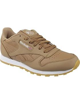 Reebok Classic Leather, Zapatillas de Deporte para Niños