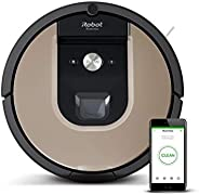 iRobot Roomba 976 WiFi connected Robot Vacuum with Power-Lifting Suction - Dual Multi- Surface Rubber Brushes