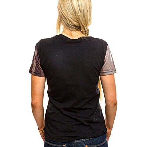 ReRock Herren T-Shirt Rival Beige-Black RTS-1936 Beige Schwarz