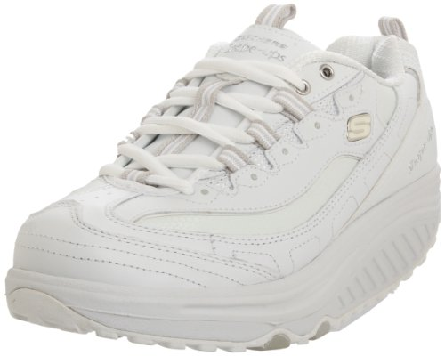Skechers Shape-ups Metabolize 11800 WSL, Sneaker donna, Bianco (Weiss/WSL), 38.5