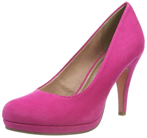 Tamaris Damen 22407-21 Pumps, Pink (Fuxia 651), 40 EU