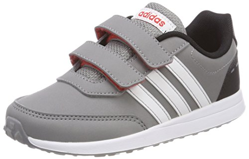 adidas Vs Switch 2 CMF, Sneakers Basses Mixte Enfant, Gris, 31 EU