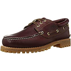 Timberland 3 Eye Classic Lug, Náuticos para Hombre, Marrón (Brown Pull Up), 41