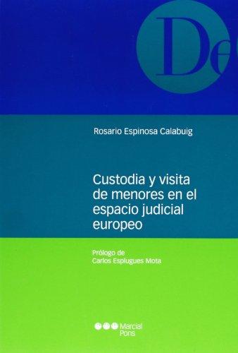 Custodia y visita de menores en elespacio judicial europeo