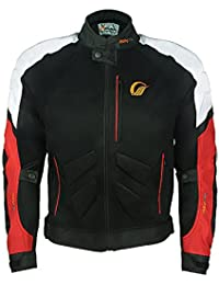 Speedwav Probiker JK-39 Bike Protective Riding Jacket (Black, 46)