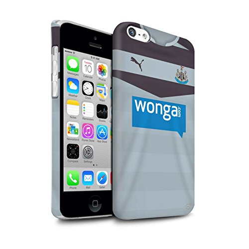 Offiziell Newcastle United FC Hülle / Matte Snap-On Case für Apple iPhone 5C / Pack 29pcs Muster / NUFC Trikot Away 15/16 Kollektion Torwart