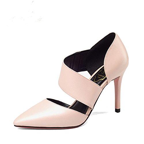 Printemps et automne fashion Lady shoes/Talons pointus de Joker/travail professionnel shoes C