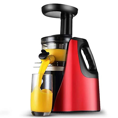 DFRgj Entsafter Beruf Whole Frucht-Gemüse-Extractor 150W Kleines Low Speed   Juice Maschine Start Automatische Multifunktionale Rückstand Trennung
