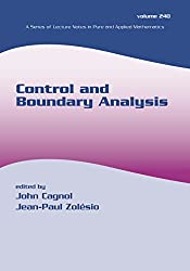 Control and Boundary Analysis (Lecture Notes in Pure and Applied Mathematics) (English Edition)