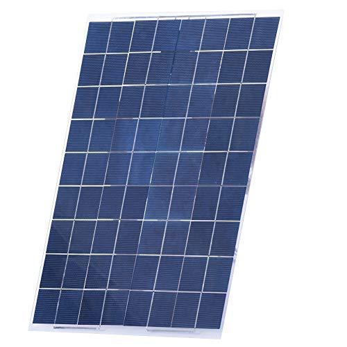 Especificación:  Potencia máxima: 30W  Voltaje de trabajo: 18V  Tamaño del producto: 52 * 33 cm / 20.47 * 12.99in   El paquete incluye:  Kit de panel solar 1 * 30W 12V  2 * clips de cocodrilo   Nota:  1. Dado que la potencia de salida del panel solar...