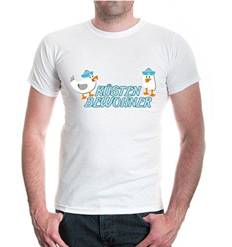 buXsbaum® T-Shirt Küstenbewohner White-z-direct