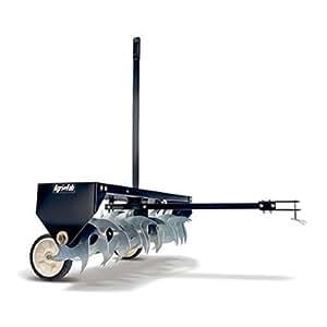 Agri-Fab AG45-0369 Aérateur de gazon Lame courbée Noir/blanc 102cm