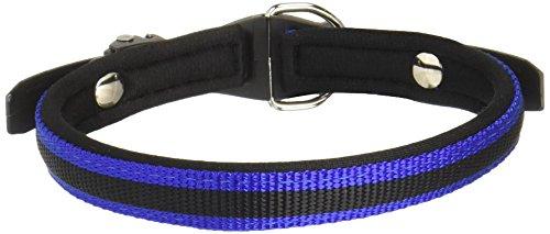 Bild: Ferplast 75452939 Halsband mit Polsterung für Hund Ergocomfort C1542 Breite 15 mm Halsumfang 3442 cm blau