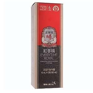 Cheong Kwanjang KOREA Red Ginseng Extract Everytime ROYAL (10ml x 10 ea) by Korea Ginseng Corporation