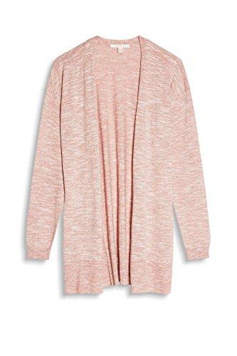 Esprit, Gilet Femme Rose (Dark Old Pink 675)