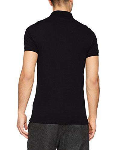 BOSS Casual Herren Poloshirt Passenger Schwarz (Black 001)
