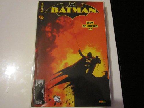 BATMAN 10 jeux de guerre 7/7 PANINI COMICS (MARS 2006)