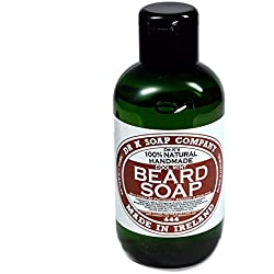 DR K Soap Company Beard Soap Cool Mint - Líquido de acuarela (100 ml)