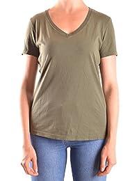 Belstaff Mujer MCBI039013O Verde Algodon T-Shirt